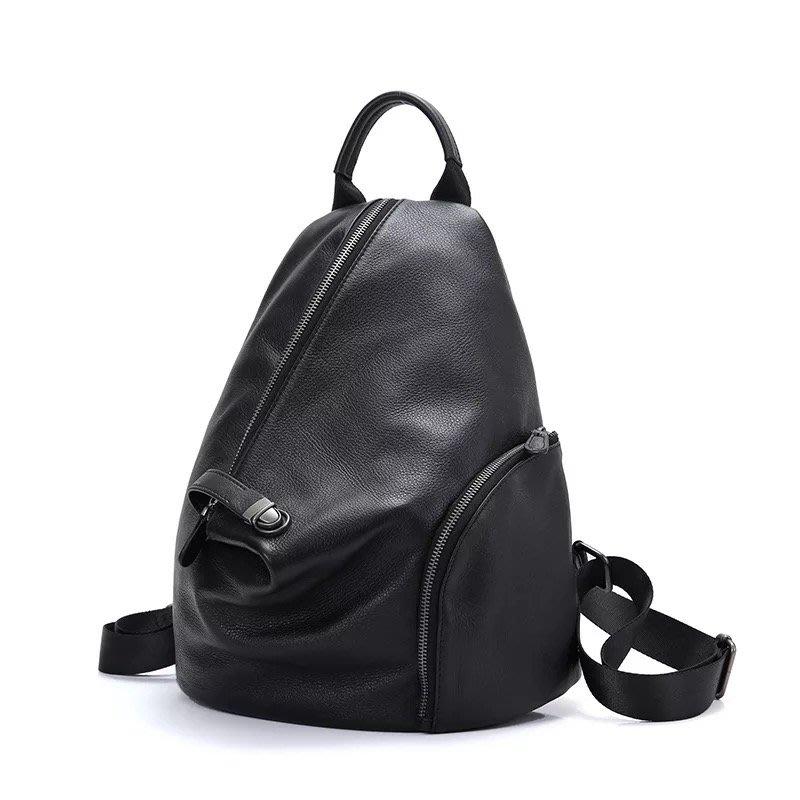 DANDT  韓版學院風牛皮軟皮休閒後背包 (MAR 24 L2022) 同風格請在賣場搜尋 SEA 或 歐美包款