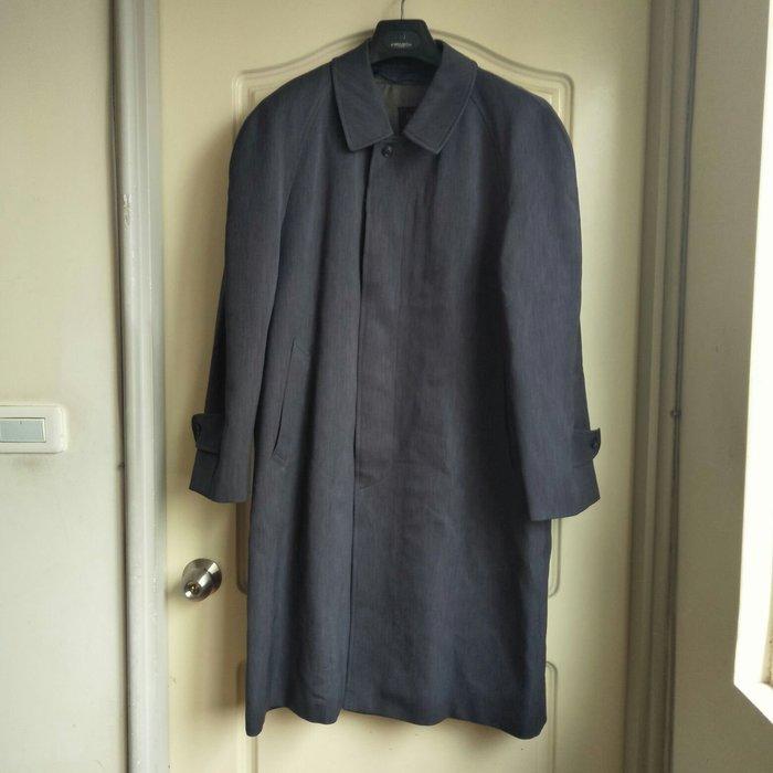 【tʃiʃi】One and One日本手工訂製男生灰色西裝風衣外套
