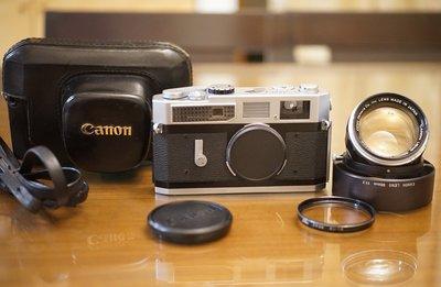 【售】Canon 7 RF旁軸底片機加購 稀有超大光圈RF老鏡 L39 50mm F1.2 LTM