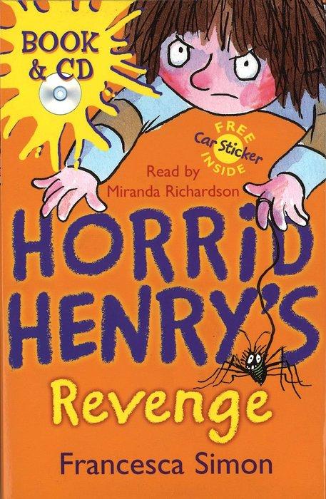 *小貝比的家*HORRID HENRY'S REVENGE /平裝書+CD/7~12歲
