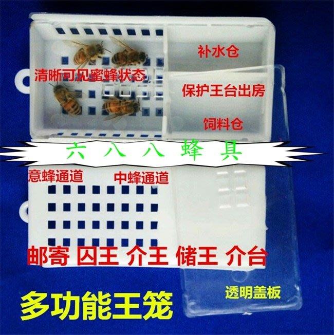 【688蜂具】超大郵寄王籠 運輸王籠 儲物王籠 囚王籠 現貨 意蜂 中蜂 洋蜂 土蜂 關王 野蜂 養蜂工具 保護罩