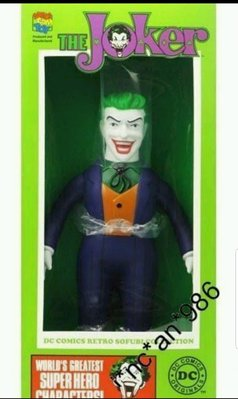 MEDICOM DC COMICS RETRO SOFUBI COLLECTION BATMAN 蝙蝠俠 THE JOKER 小丑