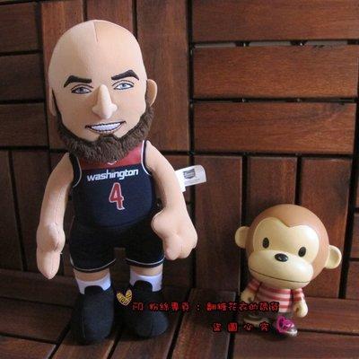 美國NBA公仔官網正品布偶娃娃巫師隊Gortat4號John Wall沃爾Arenas Curry James詹姆士LB