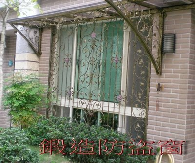 瑞洋鋁門窗..大同氣密窗!!! 金加洲!金美滿!鵝牌氣密窗施工設計-鍛造防盜窗系列