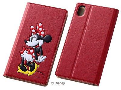 尼德斯Nydus~* 日本 Disney 迪士尼 米妮 皮套 翻頁式 皮套 手機殼 Sony Z3+ Z4