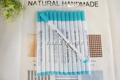 【幸福瓢蟲手作雜貨】#006523 藍色頭~消失筆、水消筆、拼布工具、拼布必備、DIY 花蓮縣