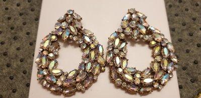 ZARA 99新穿式閃亮耳環