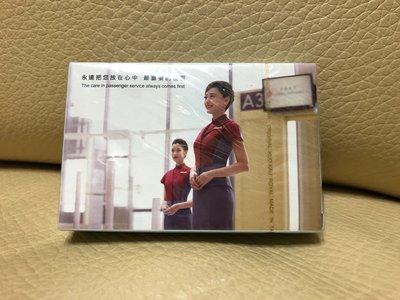 華航 中華航空 CHINA AIRLINES 永遠把您放在心中 最重要的位置 飛機 紀念 撲克牌 收集 收藏