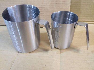 南美龐老爹咖啡『SGS認證檢驗合格 不銹鋼標準量杯 1000CC 1000ML』18-8不銹鋼 #304