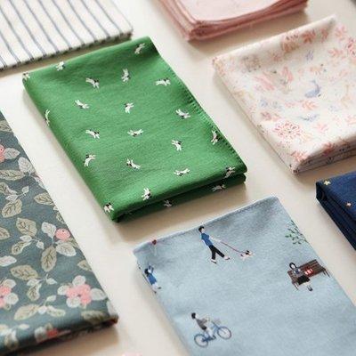 ❅PAVEE❅ 韓國dailylike~ Handkerchief 時光漫步 印花手帕/方巾/包巾(01~35)