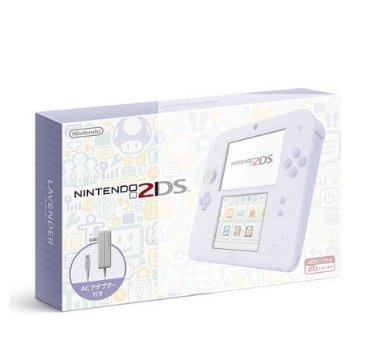 現貨【Nintendo 2DS 原裝日版主機】薰衣草紫色,限量優惠價!!