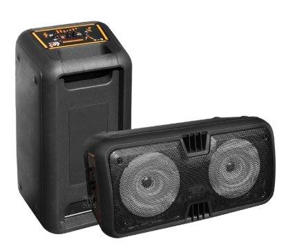 【昌明視聽】普洛咪 藍芽k歌主動式喇叭 跳舞用喇叭 UR SOUND S-6 內建藍芽接收USB播放FM收音 充電式