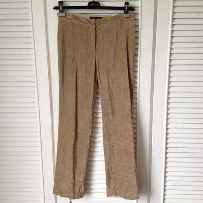 歐碼40 ETRO 駝色棉絨直筒長褲