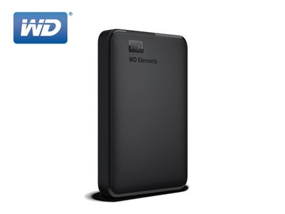 「Sorry」WD Elements 1TB 2.5吋 行動硬碟 USB3.0 2年保 WESN