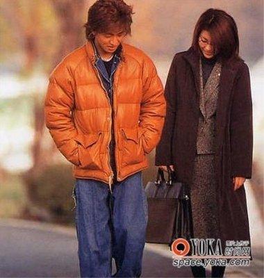 『COG』 HERO 木村拓哉 同款小羊皮羽絨外套L號 真皮超保暖