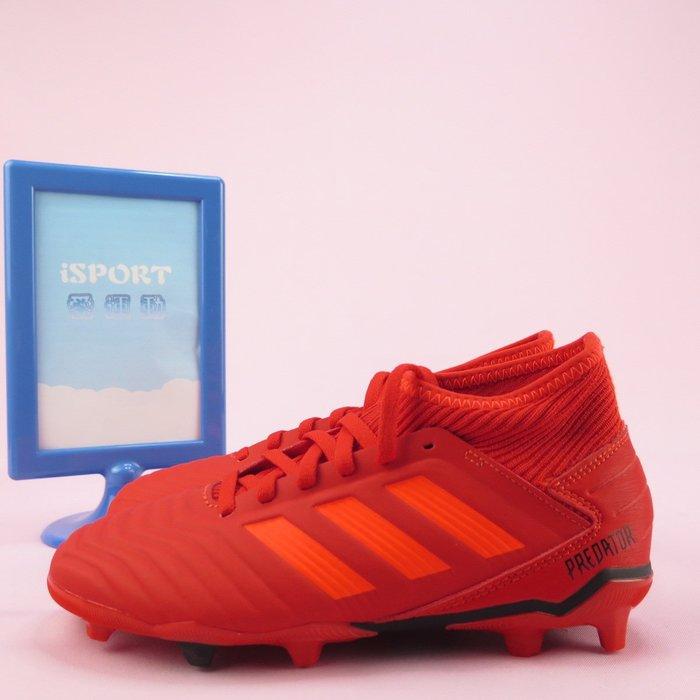 【iSport愛運動】adidas PREDATOR 19.3 F 足球鞋 公司貨 CM8534 中大童鞋