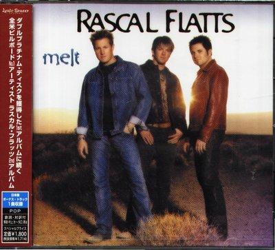 K - Rascal Flatts - Melt - 日版 +1BONUS - NEW
