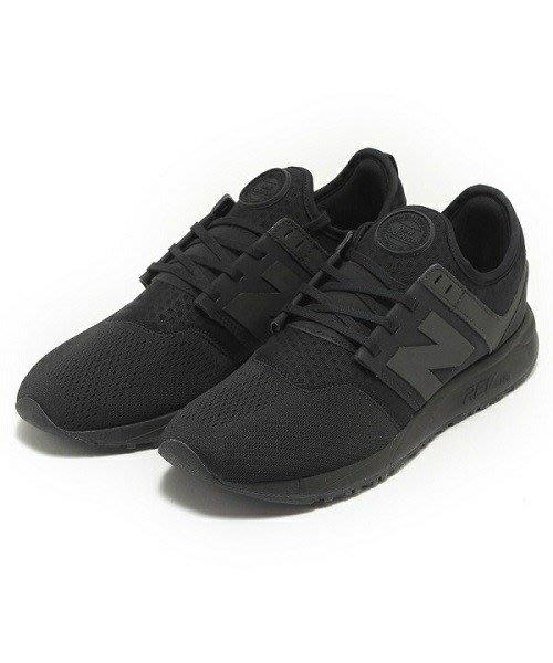 NEW BALANCE 247 慢跑鞋 NB247 全黑 運動休閒鞋 黑武士 男女尺寸