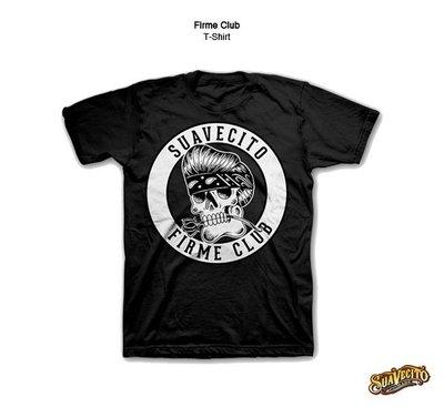 GOODFORIT / 美國Suavecito Firme Club T-Shirt墨裔骷髏上衣/S