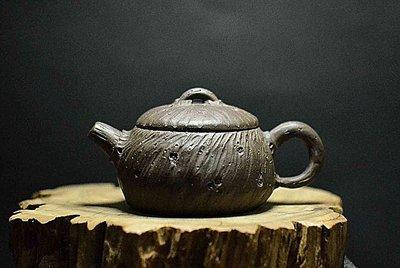 大金壺-早期原老紫泥  土胎漂亮 聲音清脆響亮 好泡好養  全手工  荊溪徐制