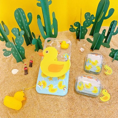 Starry × Shop JOEJOE原創黃鴨適用蘋果12手機殼iPhone12promax透明11小眾可愛夏
