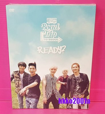 B1A4   [ Road Trip to Seoul-Ready: Live DVD  ]  絕版 唯一