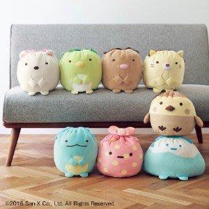 日本 最新款 可愛角落生物大型束口袋