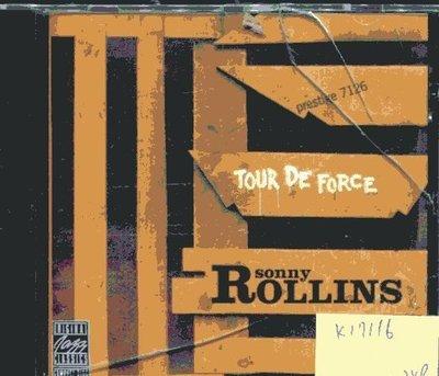 *真音樂* SONNY ROLLINS / TOUR DE FORCE 全新 K17116
