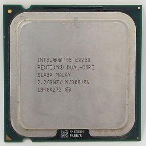 【偉鑫資訊】Intel CPU 處理器 E2200 E3200 E4500 E5200 E7200