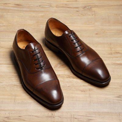 西班牙手工鞋 Berwick1707 橫紋牛津鞋