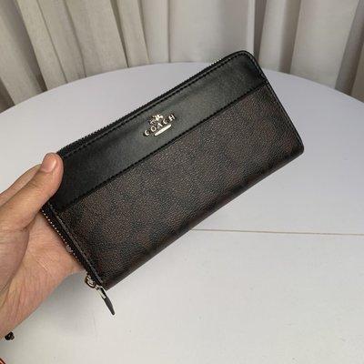 美國名品折扣店~ 特賣 COACH 76873 新款女士皮夾 長夾 拉鏈錢包 手拿包 多卡位女夾