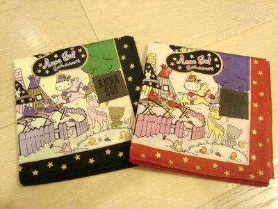 100% new 日本製Anna Sui x Sanrio crossover 限量棉質手巾 (2色)
