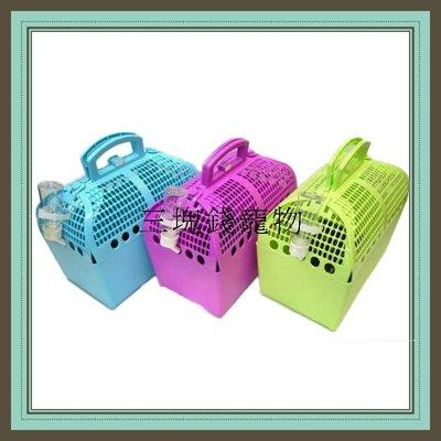 ◎三塊錢寵物◎禾其 ACEPET-輕便郊遊籠,外出輕巧好提,上蓋可兩側開起,網式設計通風性加,四種顏色可選