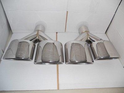 D19011104 BENZ 賓士 W204 C63 AMG樣式 Y型四出 尾飾管 排氣管