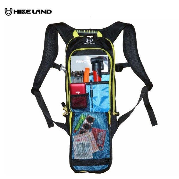 騎行背包戶外跑步雙肩包透氣背負自行車水袋包公路裝備6L山地車包