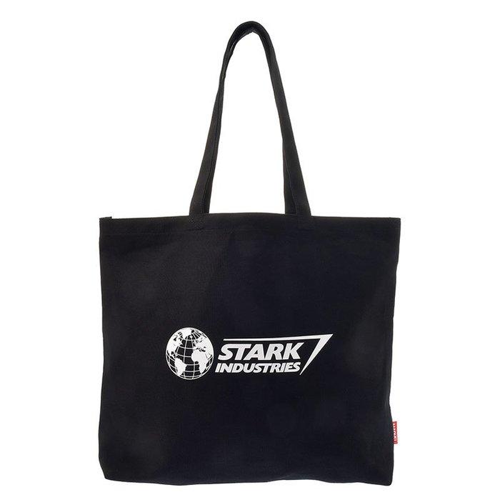 《FOS》日本 迪士尼 復仇者聯盟 終局之戰 鋼鐵人 史塔克 工業 購物袋 帆布袋 環保袋 手提袋 側背 Disney