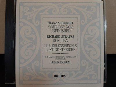 Jochum,Schubert-Sym No.8Unfinished,約夫姆指揮阿姆斯特丹大會堂管弦-舒伯特第八號未完成交響曲,理查·史特勞斯-唐璜等