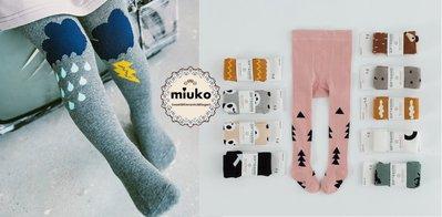 miuko BABY款歐美兒童男女寶男童女童 超可愛 雲朵 貓熊 貓咪 波浪 狐狸 英雄 褲襪(任二雙300元)現貨