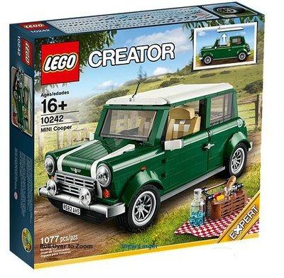 *樂高LEGO*[ 10242 CREATOR 系列 MINI Cooper ] 限量經典收藏NT6500含運 (現貨1