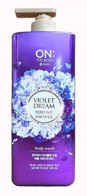 【B2百貨】 ON THE BODY香水沐浴精-夢幻紫蘿蘭(900g) 8801051122534 【藍鳥百貨有限公司】
