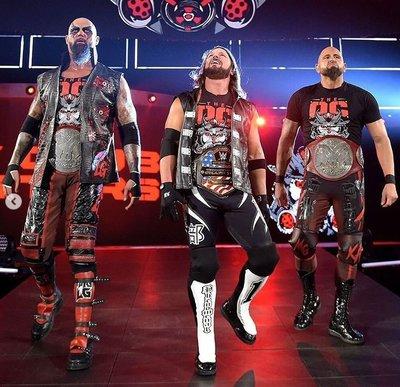 [美國瘋潮]正版 WWE The Club OC Authentic Tee 元祖俱樂部最新短袖衣服 AJ Styles