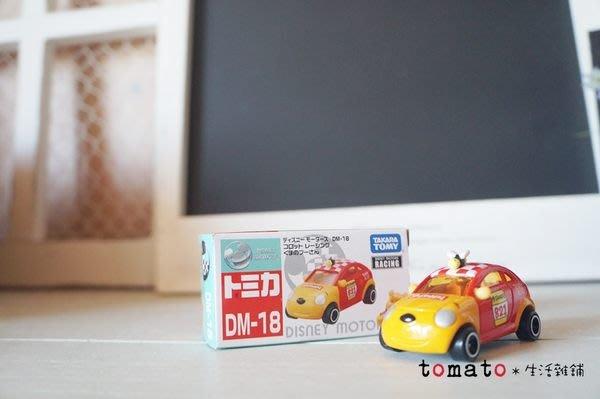 ˙TOMATO生活雜鋪˙日本進口雜貨TOMIKA 迪士尼維尼蜜蜂小車