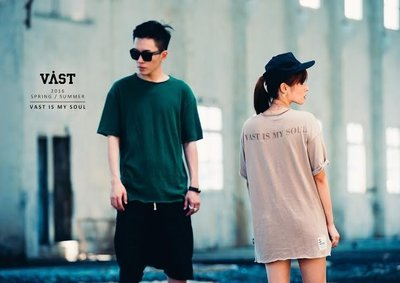 【PROXY】VAST 2016 S/S CREW-NECK RELAXED T-SHIRD
