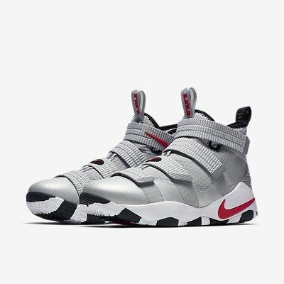 【Cool Shop】Nike LeBron Soldier 11 白銀 士兵 籃球鞋 897647-007 子彈