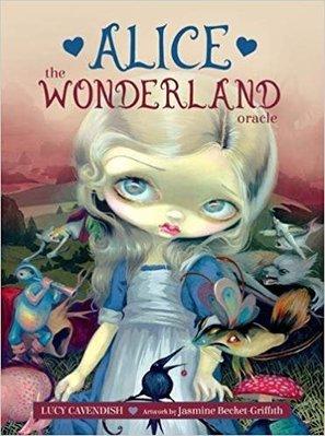【預馨緣塔羅鋪】現貨正版愛麗絲仙境神諭卡Alice the Wonderland Oracle(全新45張)