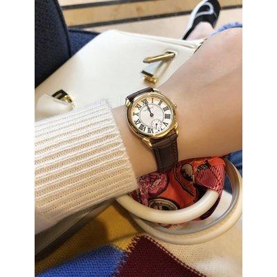 《巴黎拜金女》細節之處都飄著一股GAO檔味!石英雙機芯手錶小圓盤腕錶