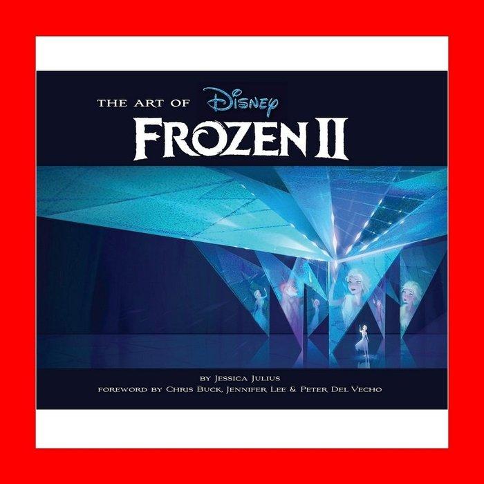 冰雪奇緣2 電影美術設定集 精裝版 Art of Frozen 2