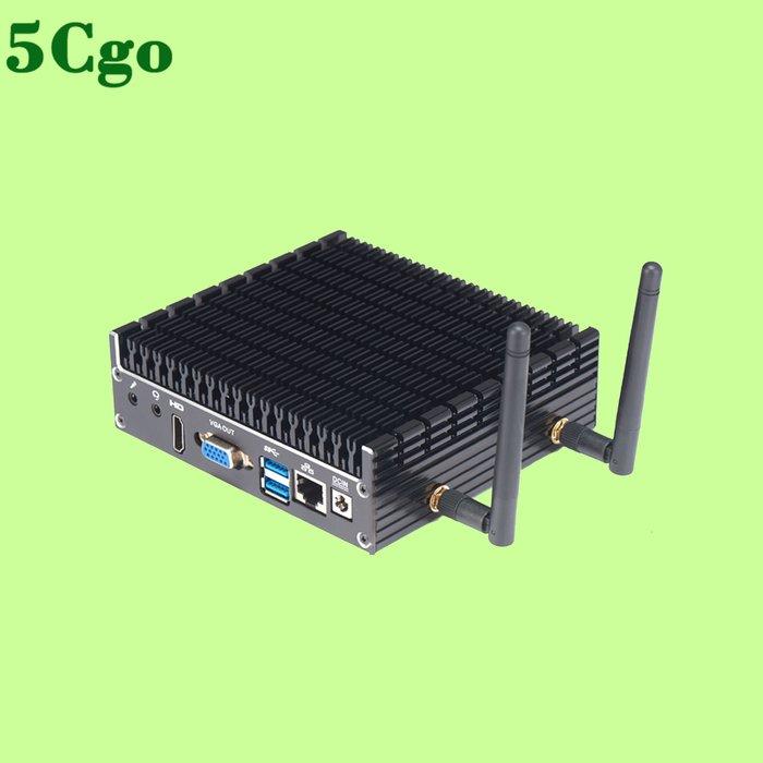 5Cgo【含稅】無風扇酷睿I5-7200U迷你電腦全鋁合金靜音微型工控小主機便攜組裝PC t595792452355