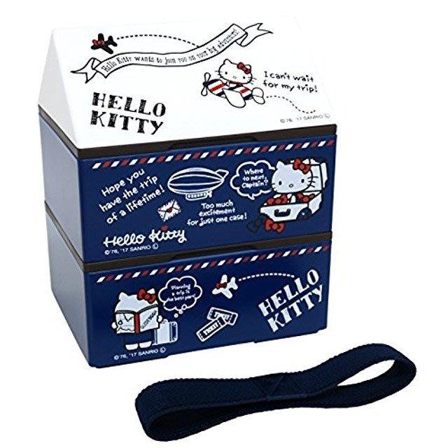 41+ 現貨免運費 日本製 HELLO KITTY 造型 便當盒 屋型收納盒  小日尼三 團購 批發 優惠 現貨 不必等