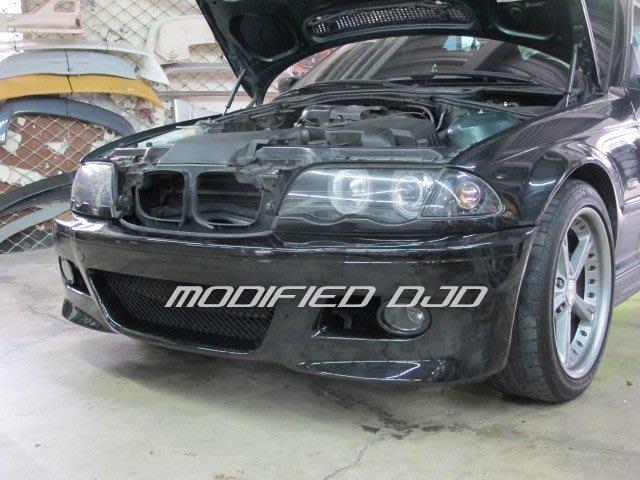 DJD 16 BM-H0525 BMW 寶馬 E46 M3型  PP塑膠前保桿含霧燈4900 PP材質 {BMW俱樂部}